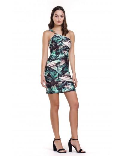 μίνι ελαστικό φόρεμα