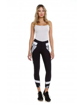 Black&white leggings