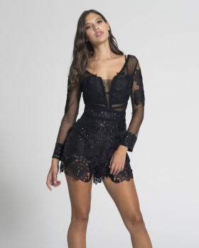 SEQUIN PLAYSUIT