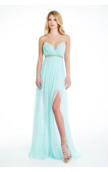 Long muslin dress