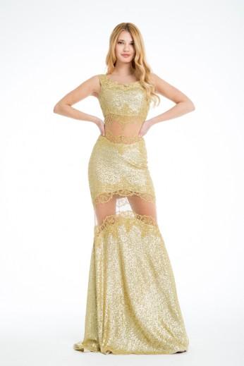 Maxi sequin dress